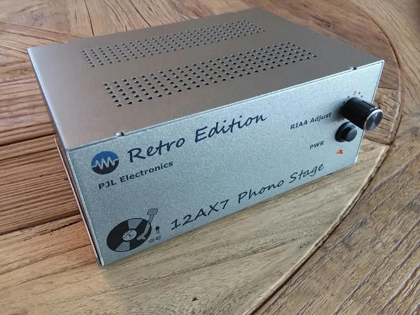Retro Edition – 12AX7 Phono Stage – PJL Electronics