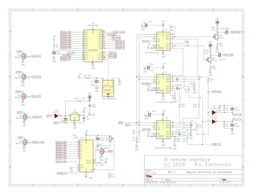 Sony IR receiver