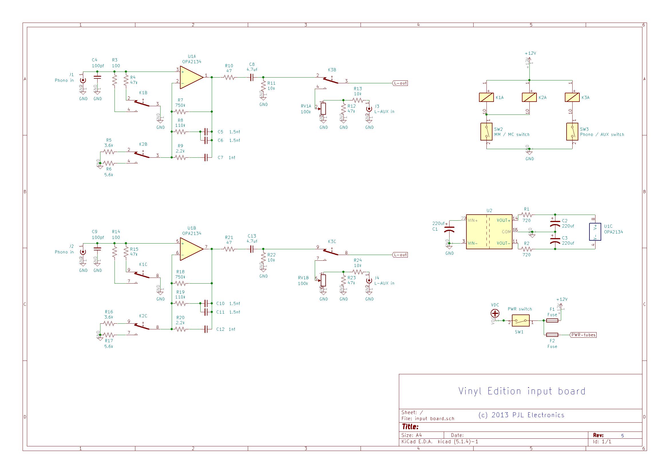 VE input board